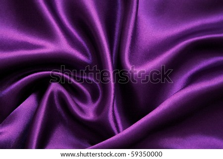 Smooth elegant lilac silk can use as background - stock photo