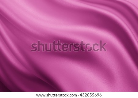Smooth elegant lilac silk or satin texture can use as background - stock photo