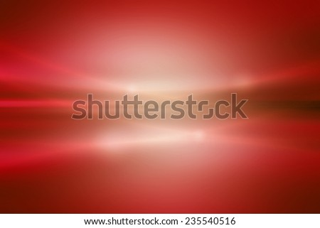 smooth fold white to red gradient abstract background - stock photo