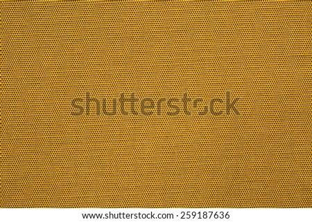 Smooth golden silk bacground - stock photo
