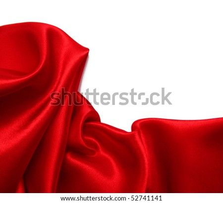 Smooth Red Silk can use as background