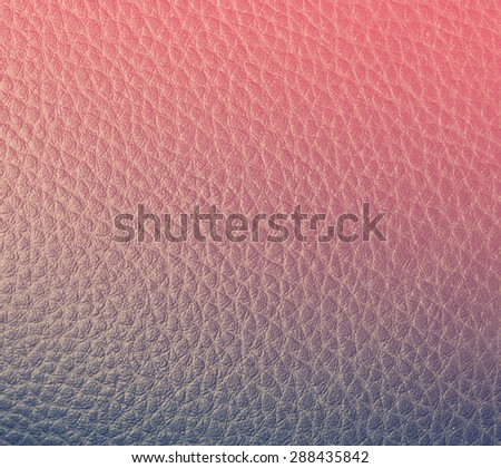 smooth texture painted black leather close up - stock photo
