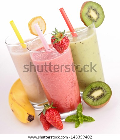 smoothies - stock photo