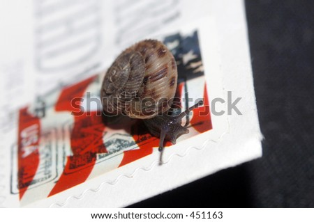 snail mail - stock photo