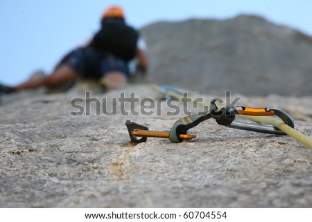 Snap link - stock photo