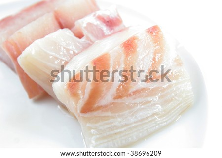 snapper fish meat