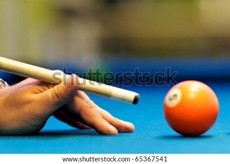 Snooker - stock photo
