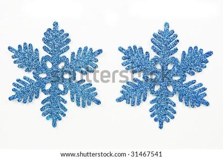 Snow Flake Ornament - stock photo