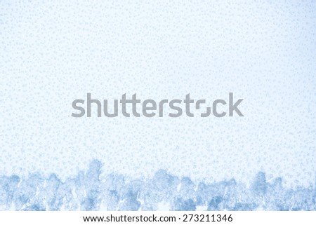 Snow on White for Background Use - stock photo