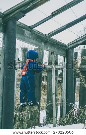 snow removal - stock photo