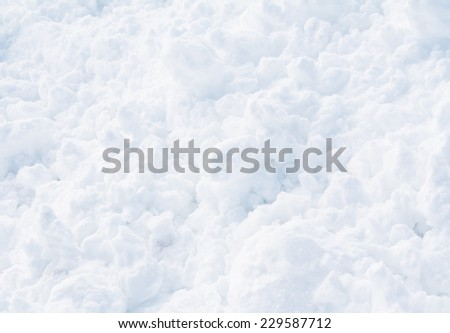 snow surface close up - abstract background - stock photo