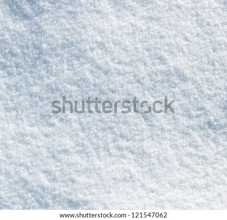 Snow texture for the background - stock photo