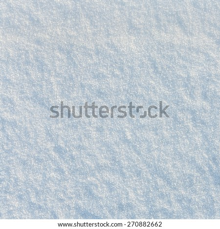 Snow Texture or Background/ Snow Texture - stock photo
