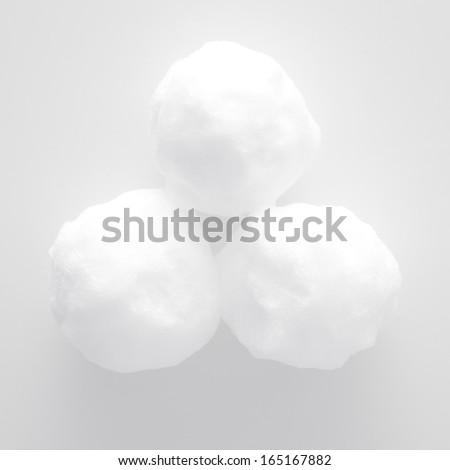 Snowballs - stock photo