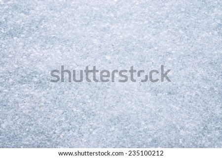 snowflake in snow, winter, holiday, - stock photo