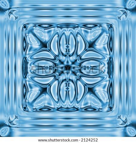 snowflake or ice - stock photo