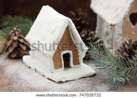 homemade stone wall stone wall snow shutterstock