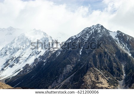 Snowy Mountains, Mount Cook National Park