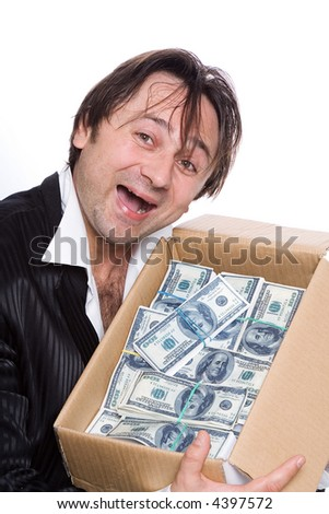 So much money is possible either to win or to steal. ??????? ? ???? - stock photo