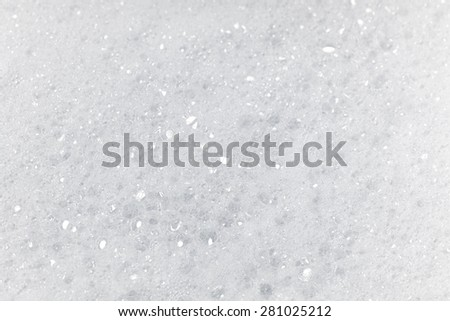 Soap and bubbles background - stock photo