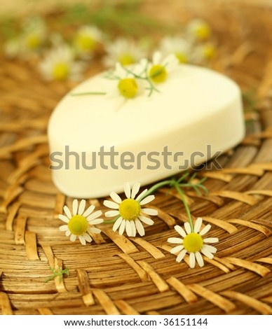 Soap and camomile