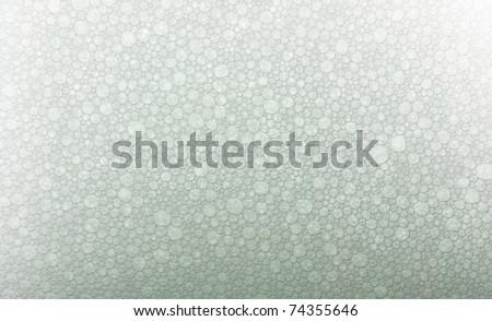 soap bubbles macro - stock photo