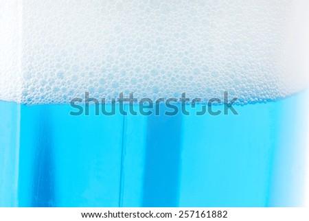 soap foam background - stock photo