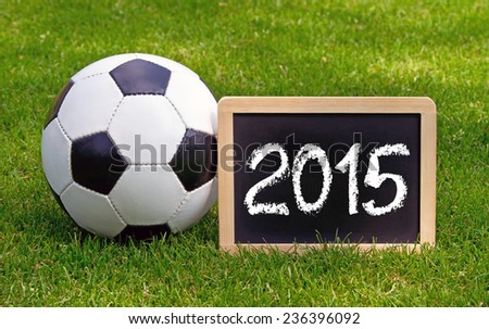Soccer 2015 - stock photo