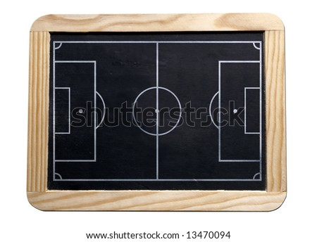 soccer black board