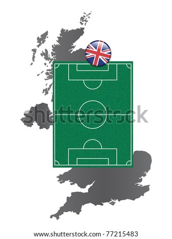 Soccer field United Kingdom