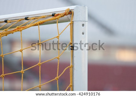 soccer / football goal corner