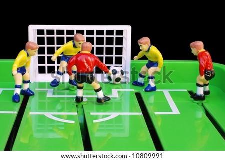 Soccer game - stock photo