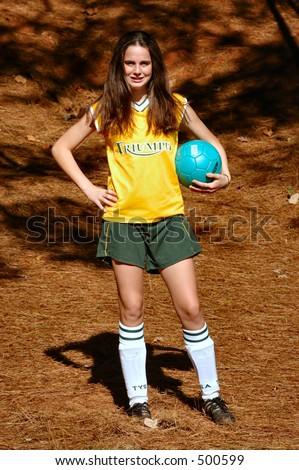 Soccer Player 1 - stock photo