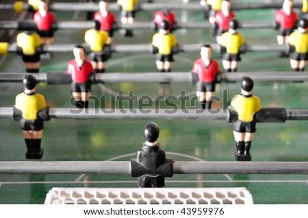 Soccer. Shallow dof. - stock photo