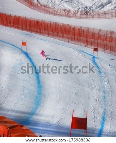 Sochi, Krasnaya Polyana - stock photo