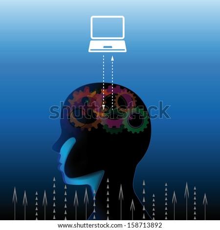 Social education communication concept - stock photo
