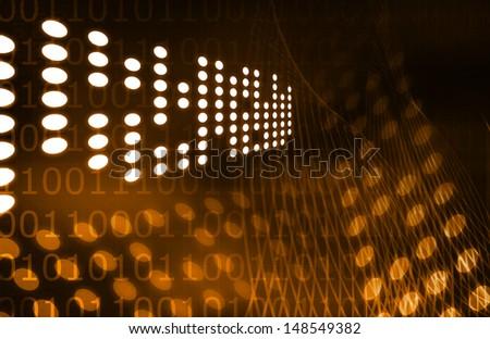 Social Innovation Technology on The Web Media  - stock photo
