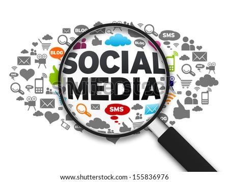 Social Media - stock photo