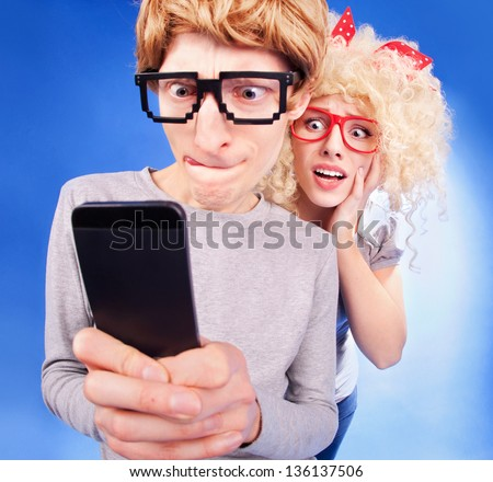 Social media relationship status is complicated - stock photo
