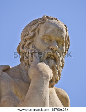 Socrates, the ancient Greek philosopher