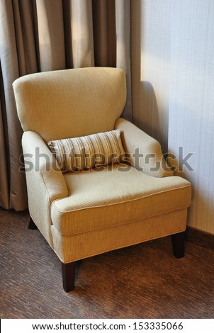 Sofa chair - stock photo