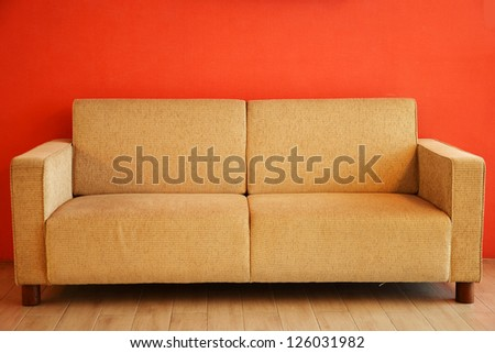 sofa furniture - stock photo