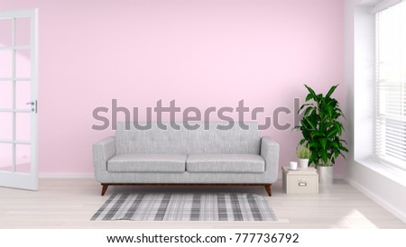 Funky Scandinavian Style Living Room Mold - Living Room Designs ...