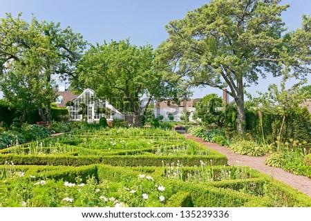 Sofiero garden - stock photo