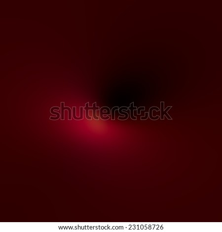 Soft Abstract Background for Various Design Blur Effects - Mysterious Fog and Glowing Light Effect - Deep Space Element - Artistic Surreal Dark Red Colour Illustration - Weird Defocused Foggy Shadowed - stock photo