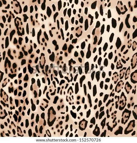soft animal print ~ seamless background - stock photo