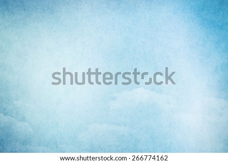 soft blue gradient grunge abstract background - stock photo