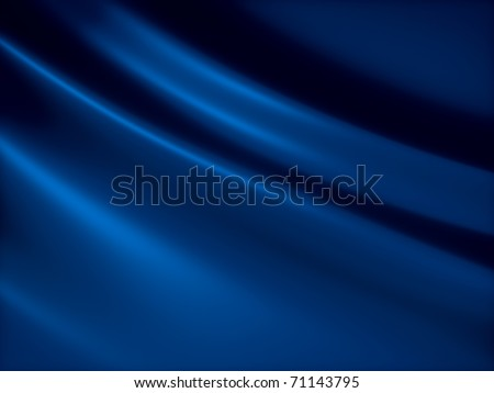 Soft blue shiny metallic background with lines - stock photo
