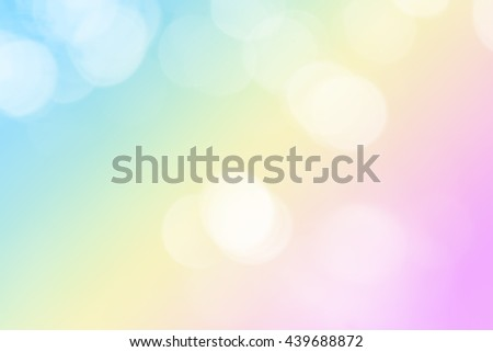 Soft blurred sweet pastel background with natural bokeh. Abstract gradient desktop wallpaper. Various mood and tone useful in many projects. - stock photo