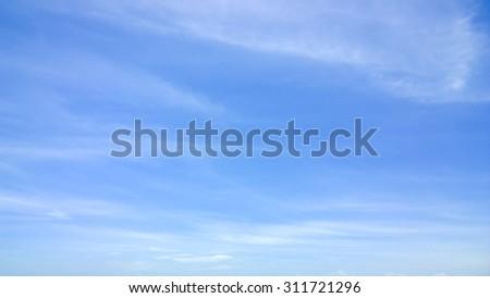soft cloud - stock photo